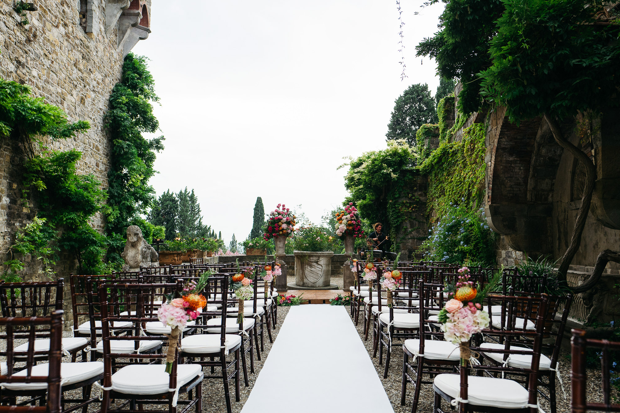 Alex + Julia Wedding Vincigliata Castle 67
