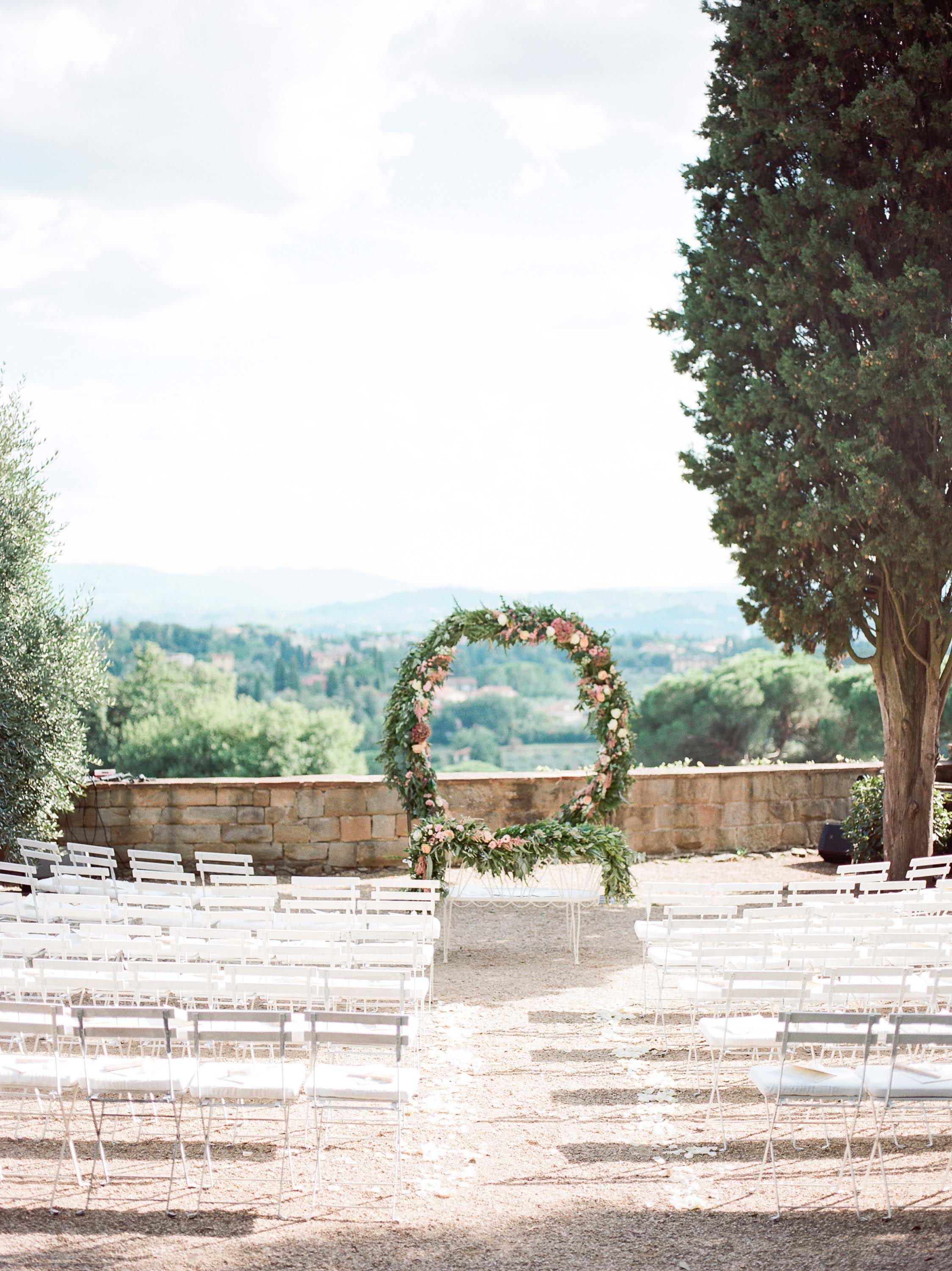 Villa Le Fontanelle Tuscany Wedding Julie&Ross-243