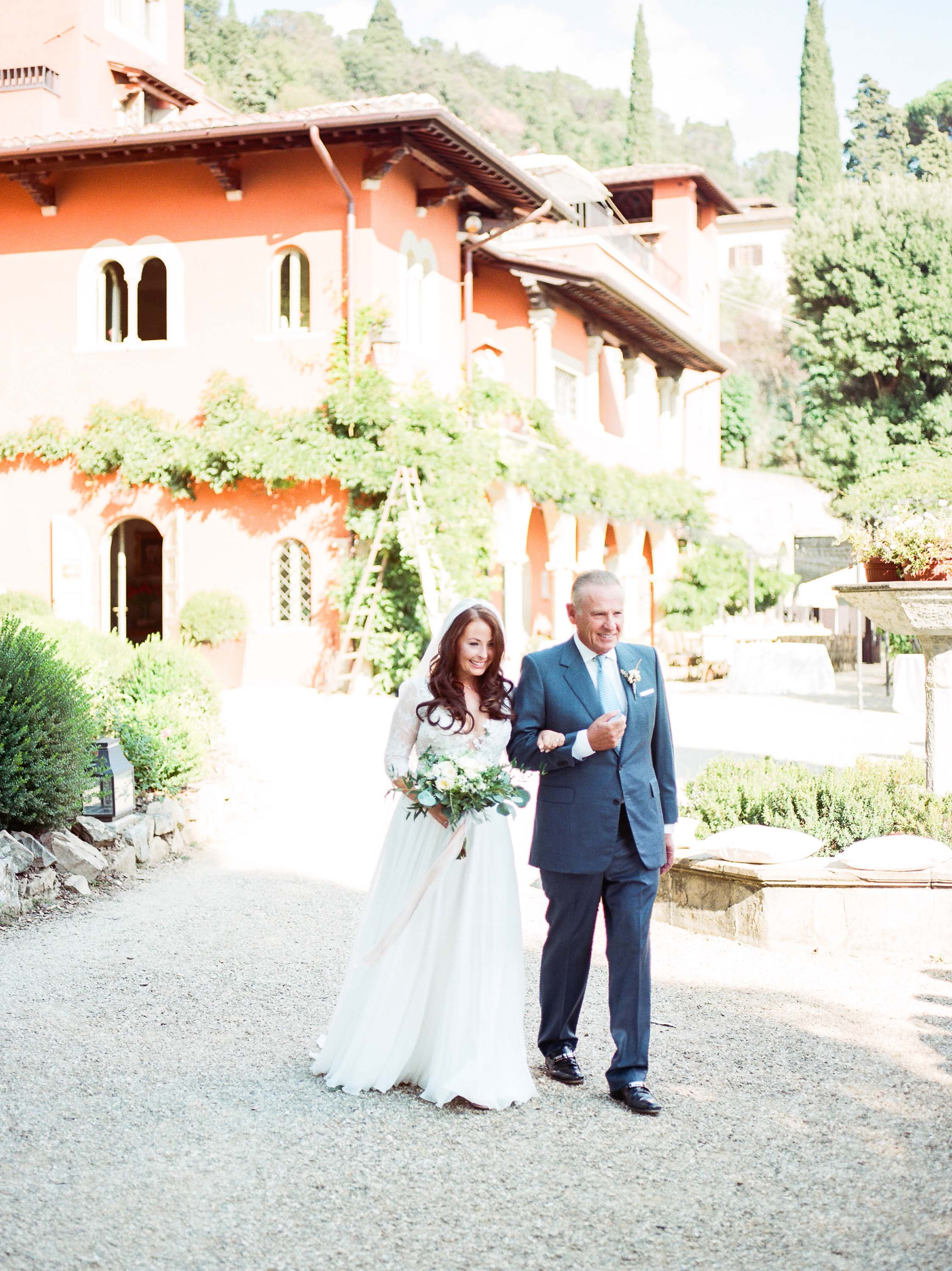 Villa Le Fontanelle Tuscany Wedding Julie&Ross-291