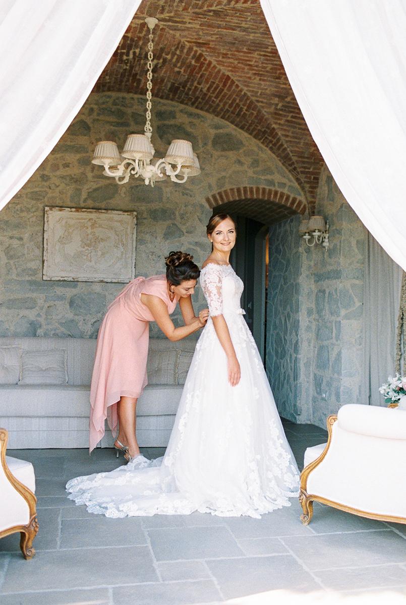 Villa Le Fontanelle Tuscany Wedding Jane _ Jason-150