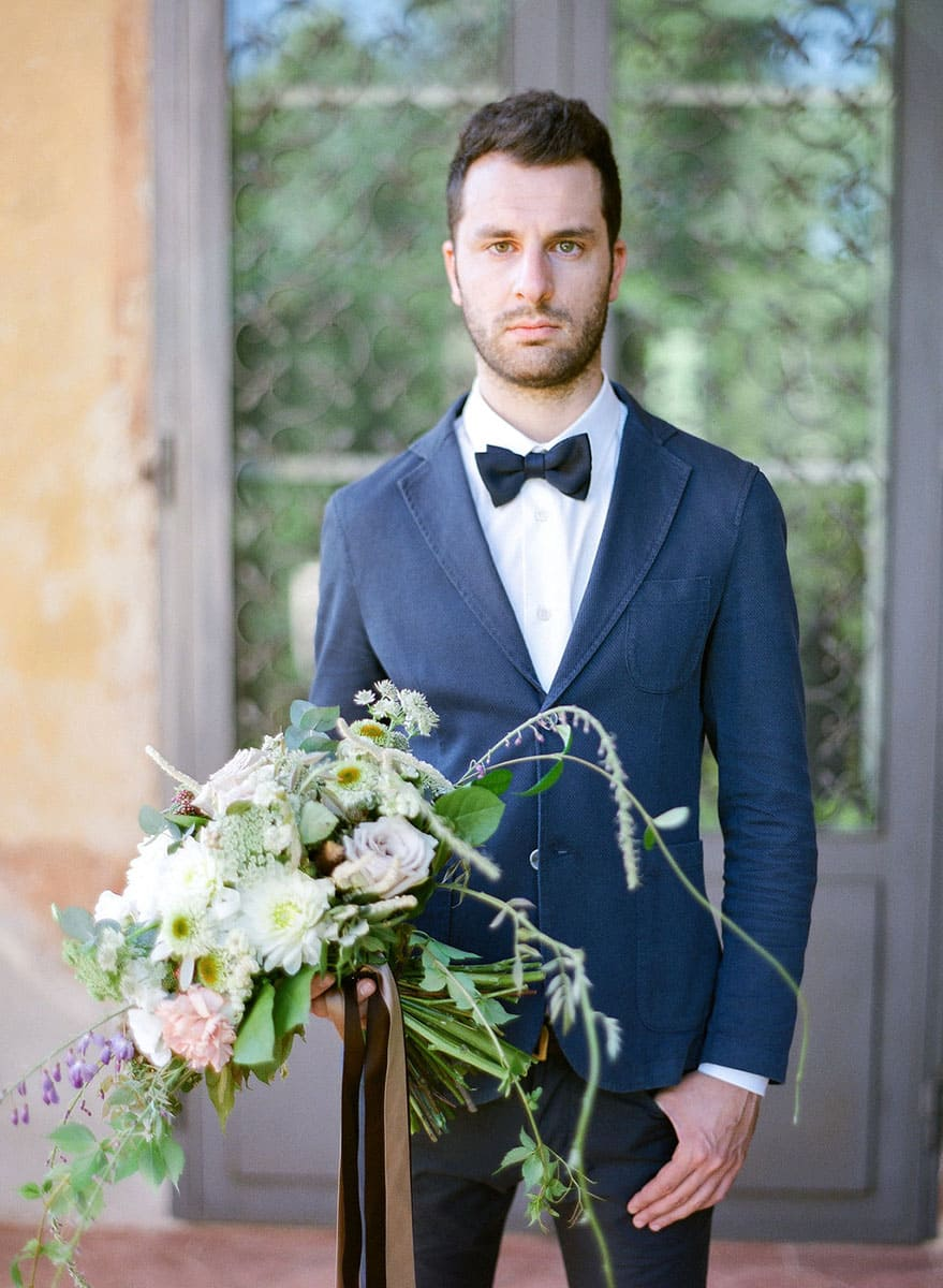 Italian Renaissance Wedding groom