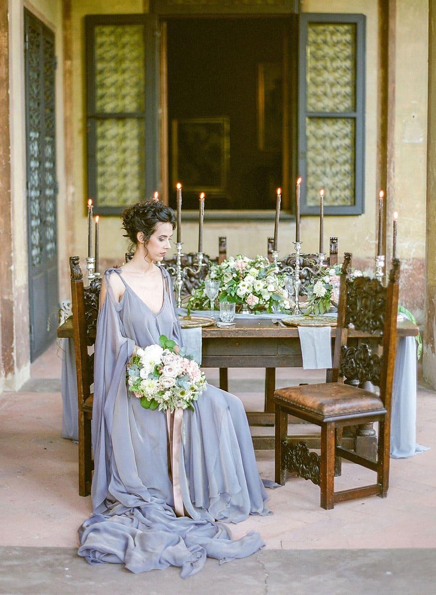 Italian Renaissance Wedding bride