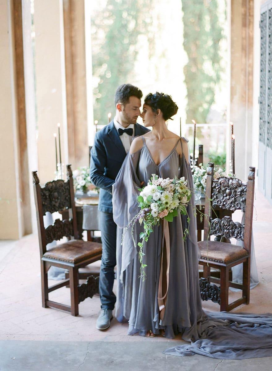 Italian Renaissance Wedding couple